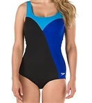 Speedo Color Block Swimsuit, 7723026