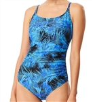 Speedo Shirred One Piece Swimsuit, 7734132