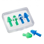 TYR Ergo Flex Ear Plug - 4 Pack