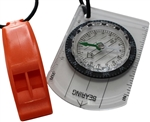 Zone3 SwimRun Compass & Whistle Bungee Combo Set