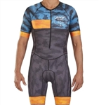 Zoot Men's LTD Tri Short Sleeve Racesuit, Camo