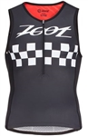 Zoot Men's Tri Cali Tank, Black Checker