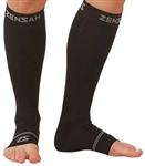 Zensah Compression Ankle/Calf Sleeves, Pair