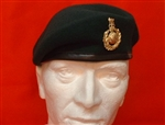 Royal Marine Beret ( Royal Marine Commando Beret + Gold Beret Badge ) RM Beret
