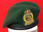 Adjutant General Corps Beret + Officers Embroidered Beret Badge