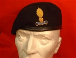 Royal Engineers Officers Beret ( RE officers / WO`S Beret + Royal Engineers Badge )