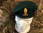 Officers Royal Engineers Beret + Badge Green RE Beret 59 Commando Beret