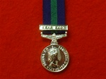 General Service Medal Near East Miniature Medal