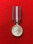 Queens Diamond Jubilee Miniature Medal