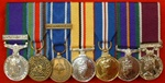 Mounted Miniature Medals