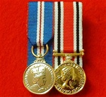Court Mounted Queens Golden Jubilee & Police Special Constabulary Long Service and Good Conduct Miniature Medals