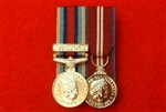 Court Mounted Op Herrick OSM Afghanistan Queens Diamond Jubilee Miniature Medals.