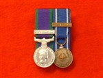Court Mounted Northern Ireland CSM, Nato Bosnia Former Yugoslavia Miniature Medals.