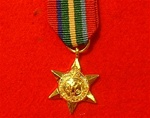 World War 2 Pacific Star Miniature Medal
