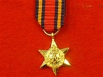 World War 2 Burma Star Miniature Medal