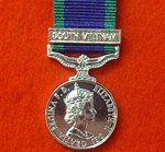 Campaign Service Medal South Vietnam Miniature Medal