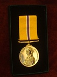 Full Size Commemorative Golden Jubilee Medal Boxed