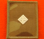 2nd LT UBACS MTP Rank Patch Ivory 2nd Lieutenant Multicam Combat Rank Patch