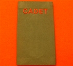 Army Cadet Force Rank Slides ACF CCF Olive Green Rank Slide ACF Rank Slides CCF