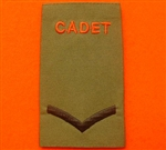 Army Cadet Force L/CPL Rank Slides ACF CCF Olive Green Rank Slide ACF Rank Slides CCF