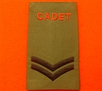 Army Cadet Force CPL Rank Slides ACF CCF Olive Green Rank Slide ACF Rank Slides CCF