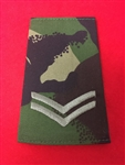 CPL Jungle DPM Combat Slides (  Corporal Jungle DPM Combat Rank Slides )