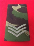 SGT Jungle Combat Slides ( Sergeant Jungle DPM Combat Rank Slides )