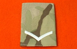 Multicam L/CPL Combat Rank Slide ( Lance Corporal Multi Terrain Pattern Rank Slides )