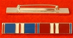 Enamel Queens Golden & Diamond Jubilee Medal Ribbon Bar Pin Type