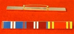 Enamel Queens Golden & Diamond Jubilee Fire Brigade Long Service Medal Ribbon Bar Pin Type