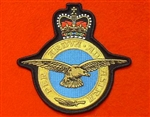 RAF Crest Badge ( Royal Air Force Embroidered Badge )