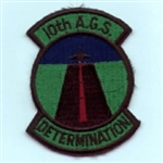 RAF 10 AGS Determination ( SUB ) Badge.