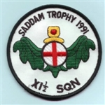 RAF Badge 115 Squadron ( Saddam Trophy - Gulf OPS  )