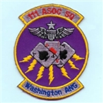 RAF 111 ASSOC SQN Washington ANG Badge  ( 111 ASSOC Squadron Washington ANG Badge )