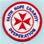 RAF 1435 Flight Faith Hope Charity Badge ( 1435 Flight Faith Hope Charity Badge )