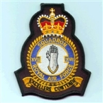 RAF 17 SQN Official Crest Badge ( 17 Squadron Official Crest Badge )