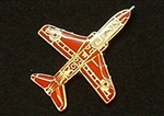 Enamel RAF Red Arrow Pin Badge