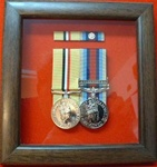 Design 20 Military Medal Frame (  Presentation Frame ) Box Frame