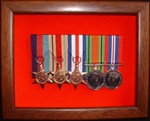 Design 22 Military Medal Frame (  Presentation Frame ) Box Frame