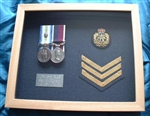 Design 42 Light Colour Frame RAF Military Box Frame ( Medal Frame )