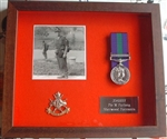 Design 50 Military Medal Frame ( Black Wood Box Frame )