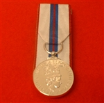 Replacement Court Mounted Queens Silver Jubilee Full Size Medal