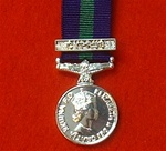 Cyprus General Service Miniature Medal