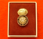 Quality Royal Welch Fusiliers Boxed Infantry Enamel Lapel Badge ( RWF Lapel Badge )