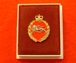 Quality King's Own Border Regiment Boxed Infantry Enamel Lapel Badge ( KORBR Lapel Badge )