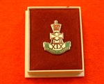 Qualty The Green Howards Enamel Lapel Badge ( GH Lapel Badge )