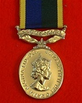 Full Size TA Efficiency ER II Long Service and Good Conduct Medal