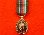 Volunteer Reservist Service Miniature Medal ( VRSM Long Service Good Conduct Miniature Medal )