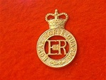 Royal Horse Guards Cap Badge ER 11( RHG Beret Badge )