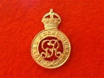 Royal Horse Guards Cap Badge ( RHG Beret Badge ) King`s Crown
